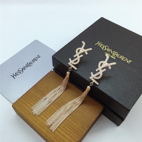 Replica Yves Saint Laurent YSL Earring For Women #831567 $35.00 USD for Wholesale