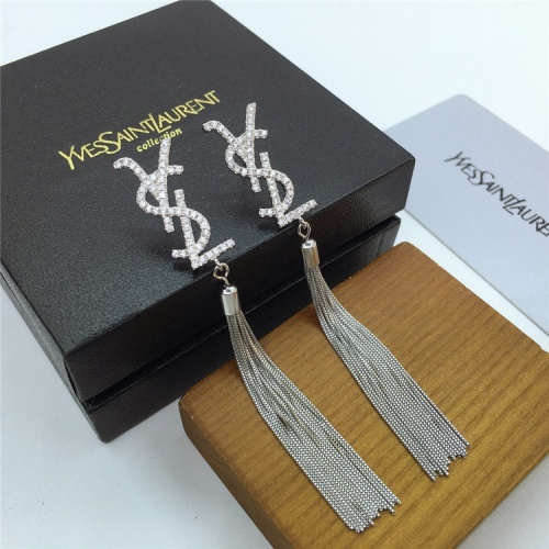 Yves Saint Laurent YSL Earring For Women #831568 $35.00, Wholesale Replica Yves Saint Laurent YSL Earring