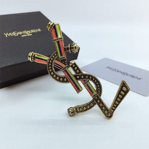 Replica Yves Saint Laurent Brooches For Women #831601 $28.00 USD for Wholesale