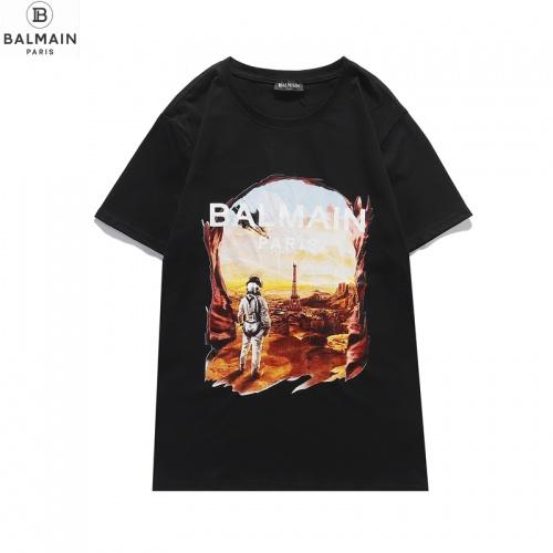 Balmain T-Shirts Short Sleeved O-Neck For Men #831615