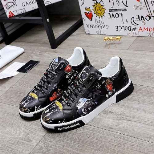 Dolce & Gabbana D&G Casual Shoes For Men #831693