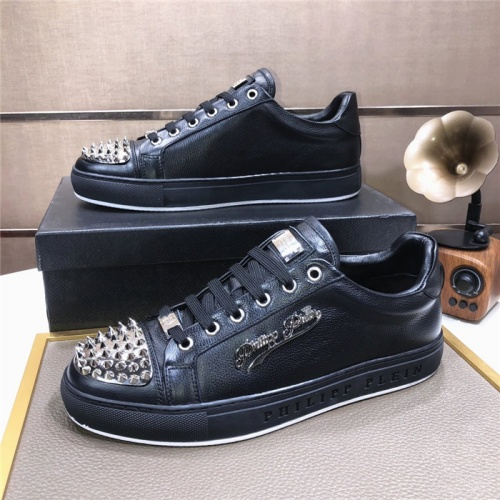 Replica Philipp Plein PP Casual Shoes For Men #831708 $80.00 USD for Wholesale