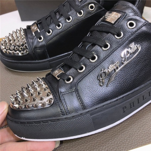 Replica Philipp Plein PP Casual Shoes For Men #831708 $80.00 USD for Wholesale