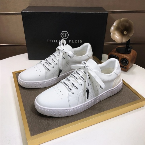 Philipp Plein PP Casual Shoes For Men #831709 $80.00, Wholesale Replica Philipp Plein Shoes