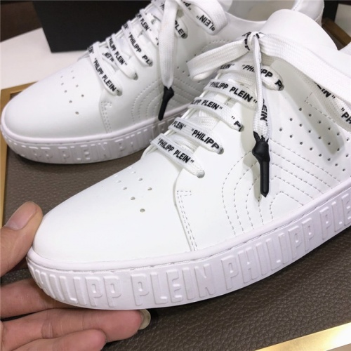 Replica Philipp Plein PP Casual Shoes For Men #831709 $80.00 USD for Wholesale