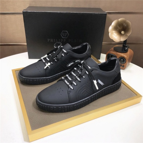 Philipp Plein PP Casual Shoes For Men #831710 $80.00, Wholesale Replica Philipp Plein Shoes