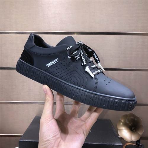 Replica Philipp Plein PP Casual Shoes For Men #831710 $80.00 USD for Wholesale