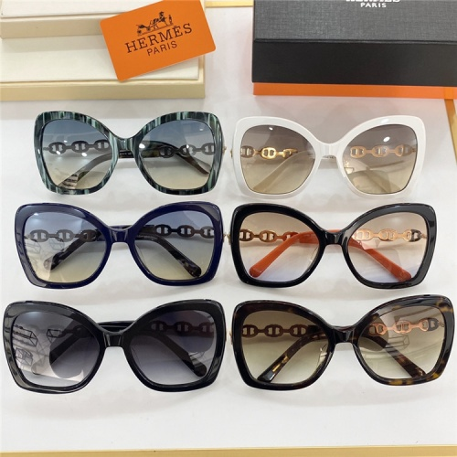 Replica Hermes AAA Quality Sunglasses #831773 $61.00 USD for Wholesale