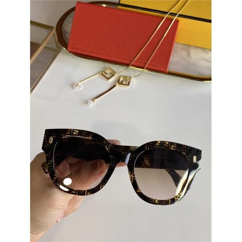 Fendi AAA Quality Sunglasses #831778