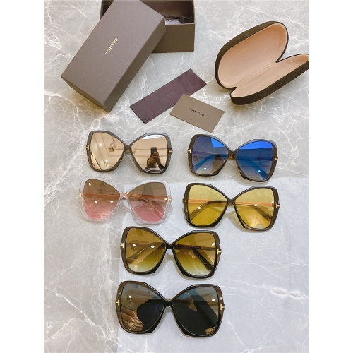 Replica Tom Ford AAA Quality Sunglasses #831787 $50.00 USD for Wholesale