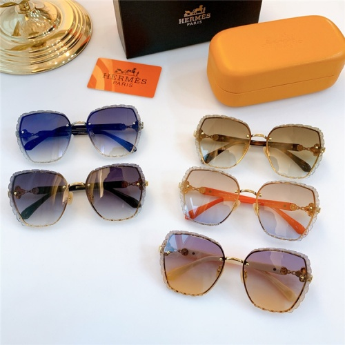 Replica Hermes AAA Quality Sunglasses #831788 $68.00 USD for Wholesale