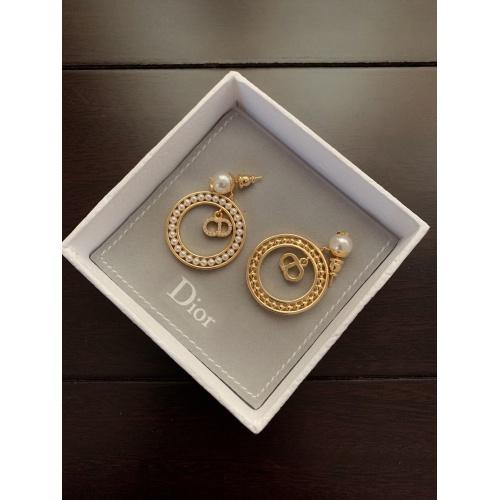 Christian Dior Earrings #831837 $34.00, Wholesale Replica Christian Dior Earrings