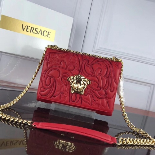 Versace AAA Quality Messenger Bags For Women #831956 $128.00, Wholesale Replica Versace AAA Quality Messenger Bags