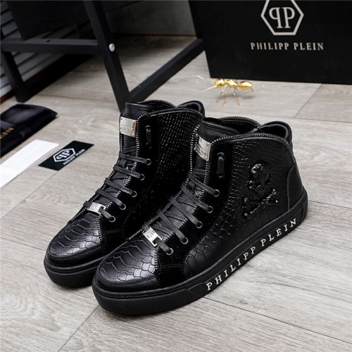 Philipp Plein PP High Tops Shoes For Men #831997
