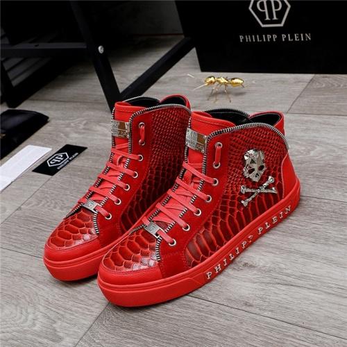 Philipp Plein PP High Tops Shoes For Men #831998