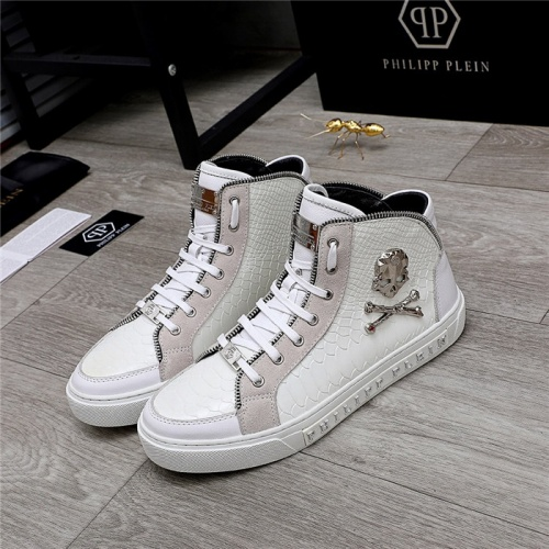 Philipp Plein PP High Tops Shoes For Men #831999