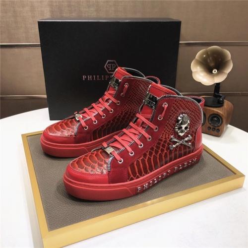 Philipp Plein PP High Tops Shoes For Men #832003