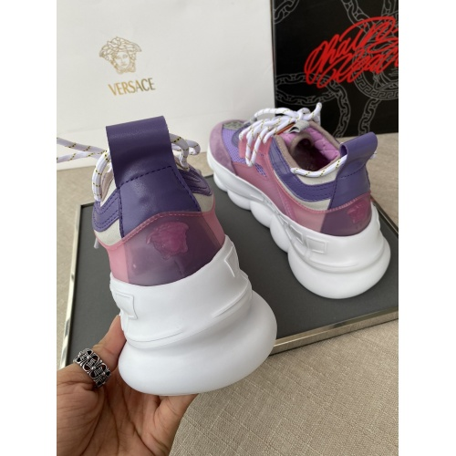 Replica Versace Casual Shoes For Women #832037 $92.00 USD for Wholesale
