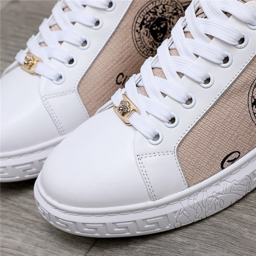 Replica Versace Casual Shoes For Men #832052 $76.00 USD for Wholesale