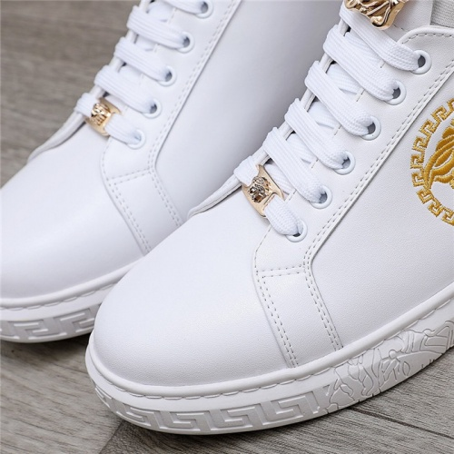 Replica Versace Casual Shoes For Men #832073 $80.00 USD for Wholesale