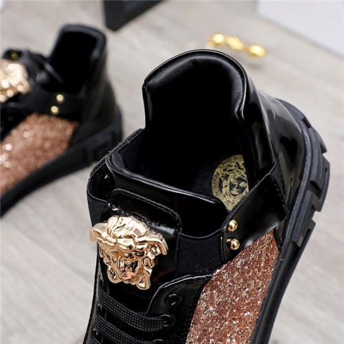 Replica Versace Casual Shoes For Men #832081 $80.00 USD for Wholesale