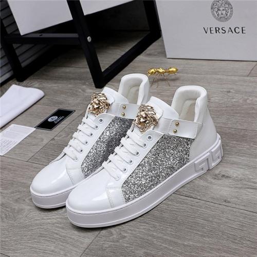 Versace Casual Shoes For Men #832082 $80.00 USD, Wholesale Replica Versace Casual Shoes
