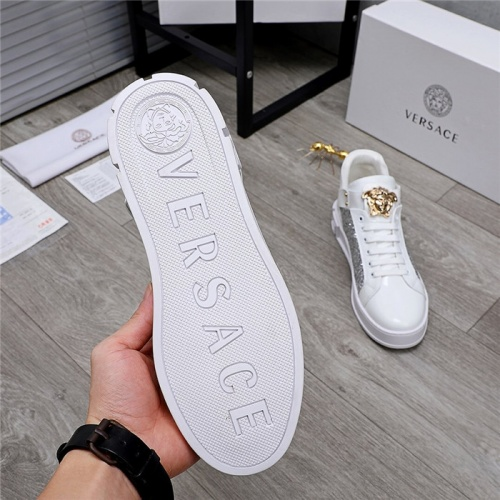 Replica Versace Casual Shoes For Men #832082 $80.00 USD for Wholesale
