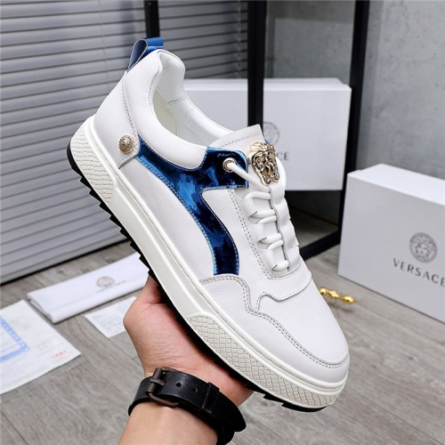 Replica Versace Casual Shoes For Men #832083 $80.00 USD for Wholesale