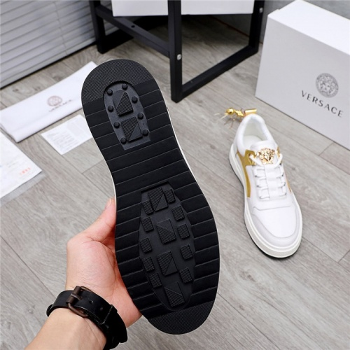 Replica Versace Casual Shoes For Men #832084 $80.00 USD for Wholesale