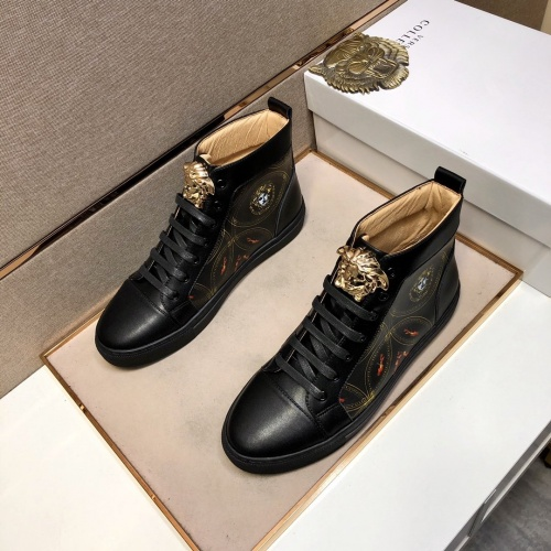 Versace High Tops Shoes For Men #832089