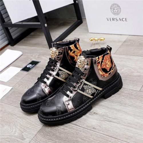 Versace Boots For Men #832092