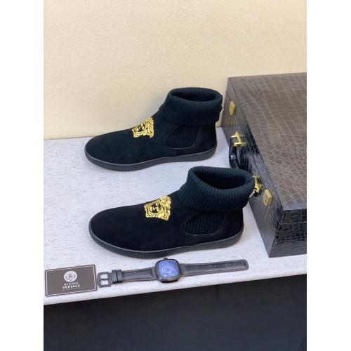 Versace Boots For Men #832094