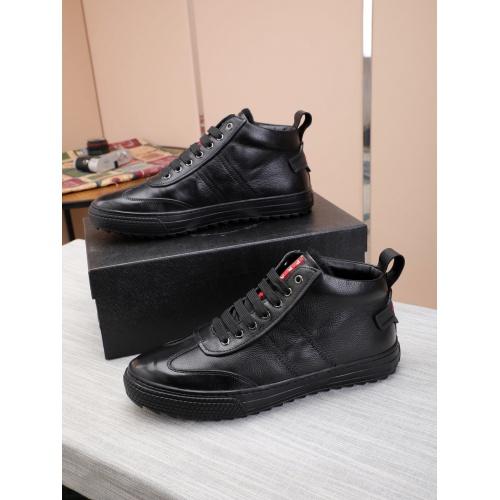Prada High Tops Shoes For Men #832135