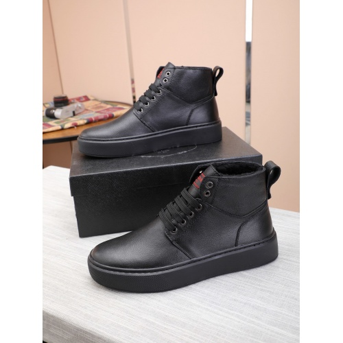 Prada High Tops Shoes For Men #832136