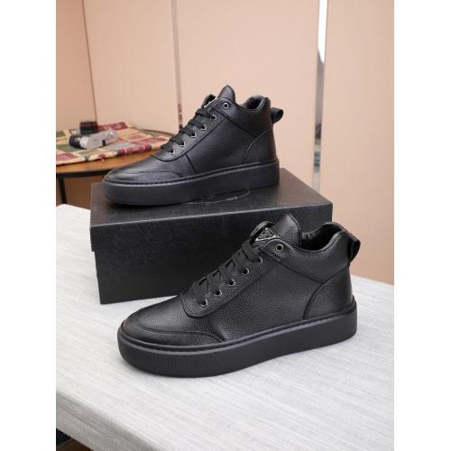 Prada High Tops Shoes For Men #832137