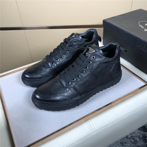Prada High Tops Shoes For Men #832139