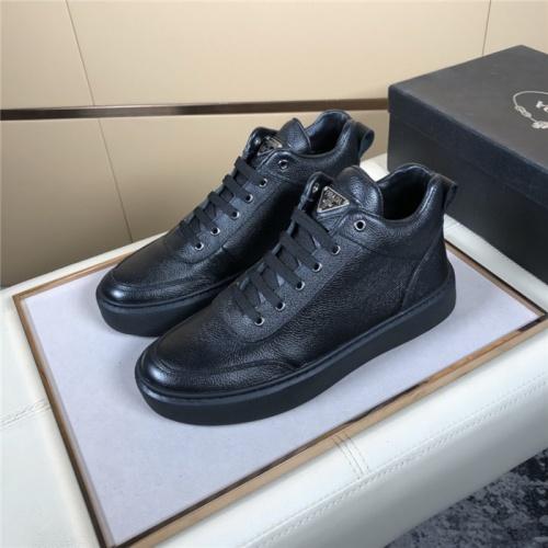 Prada High Tops Shoes For Men #832140