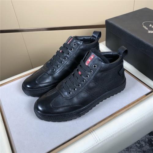 Prada High Tops Shoes For Men #832141