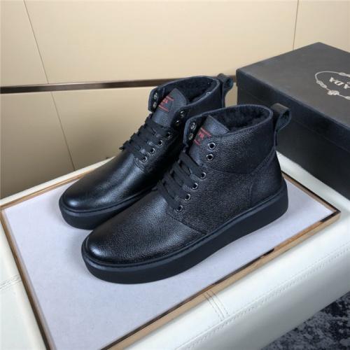 Prada High Tops Shoes For Men #832142