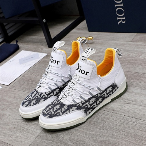 Christian Dior Casual Shoes For Men #832152 $82.00 USD, Wholesale Replica Christian Dior Casual Shoes