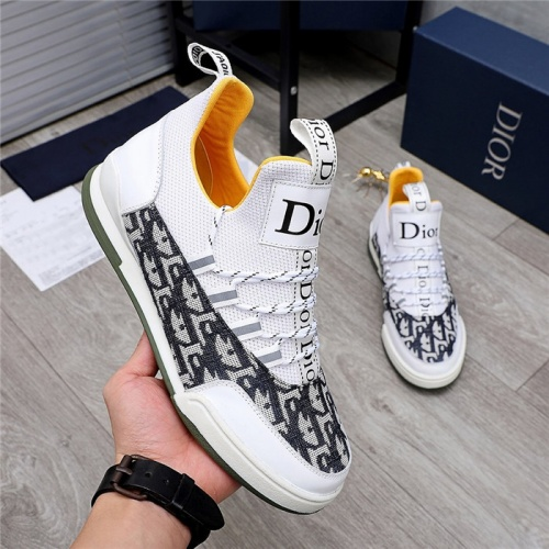 Replica Christian Dior Casual Shoes For Men #832152 $82.00 USD for Wholesale