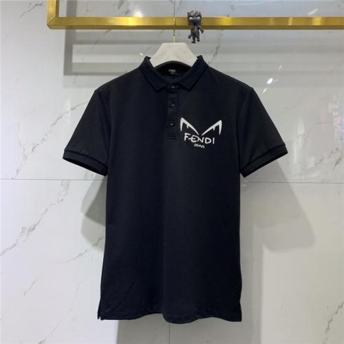 Fendi T-Shirts Short Sleeved For Men #832164 $43.00, Wholesale Replica Fendi T-Shirts