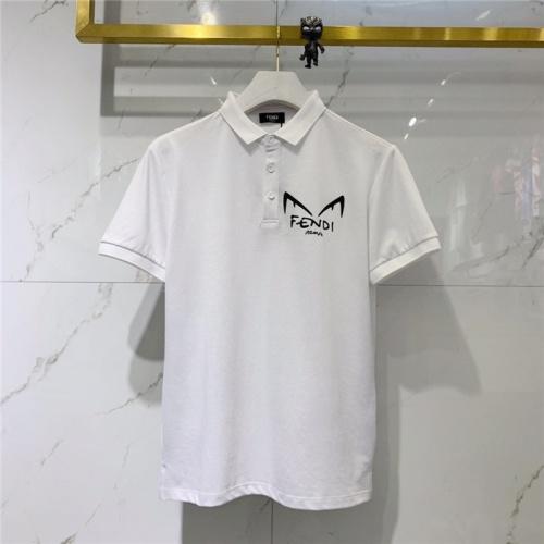Fendi T-Shirts Short Sleeved For Men #832165