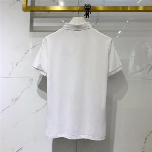 Replica Fendi T-Shirts Short Sleeved For Men #832165 $43.00 USD for Wholesale