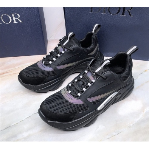 Replica Christian Dior Casual Shoes For Men #832168 $88.00 USD for Wholesale