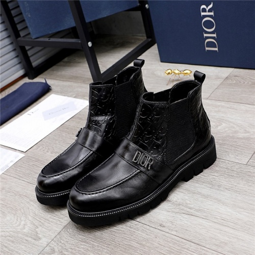 Christian Dior Boots For Men #832175