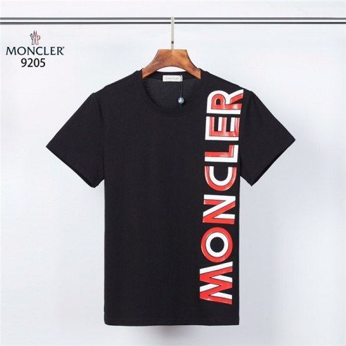 Moncler T-Shirts Short Sleeved For Men #832181 $27.00, Wholesale Replica Moncler T-Shirts