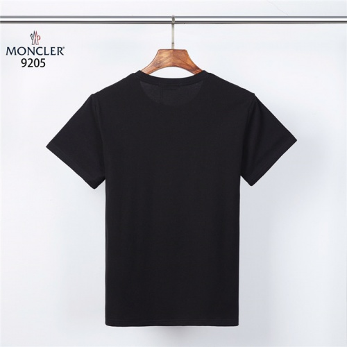 Replica Moncler T-Shirts Short Sleeved For Men #832181 $27.00 USD for Wholesale