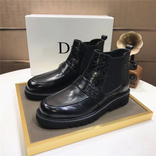 Christian Dior Boots For Men #832184