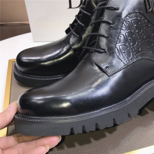 Replica Christian Dior Boots For Men #832185 $92.00 USD for Wholesale